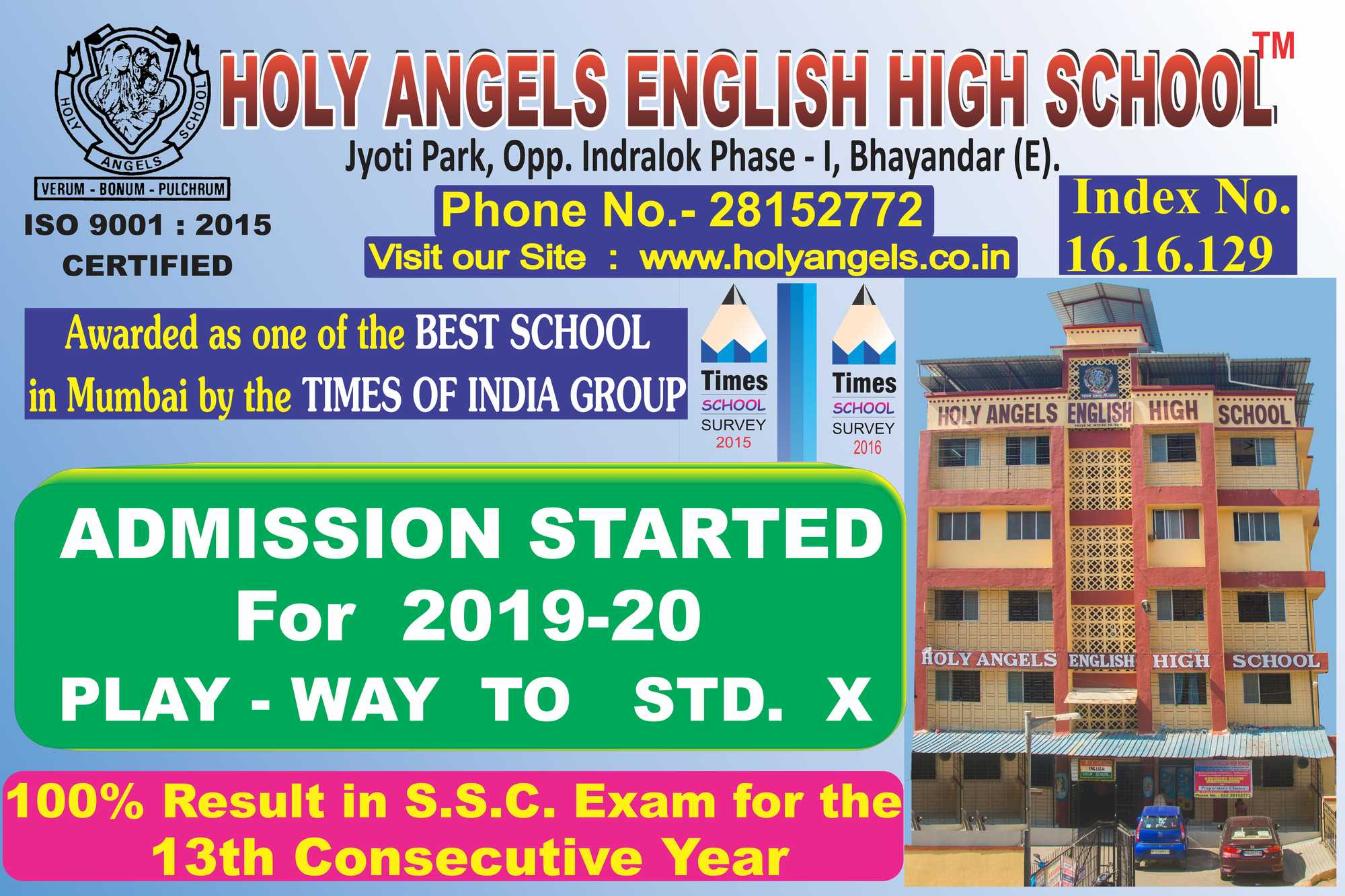 Holy Angels English High School Bhayander East