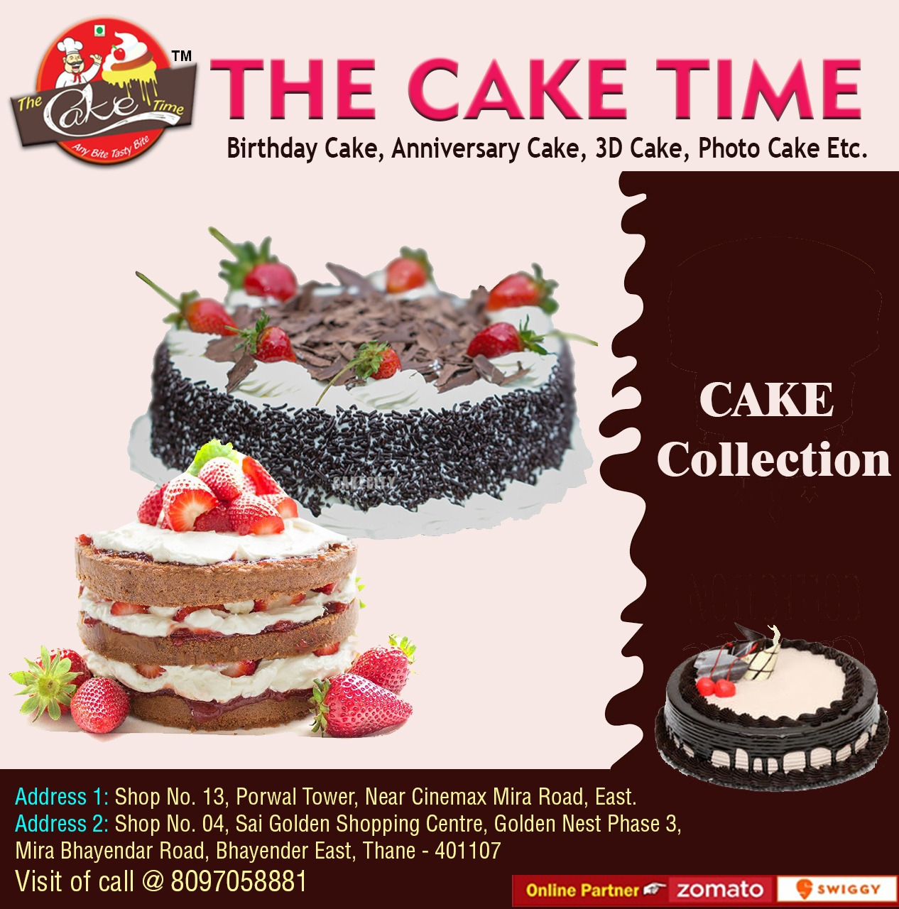 THE CAKE TIME
