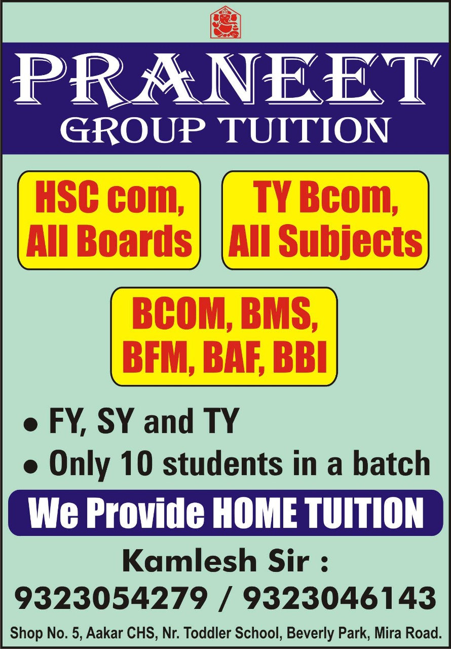 PRANEET GROUP TUITION, MIRAROAD