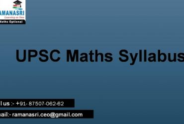 MathematiCs Optional Test Serie 2020